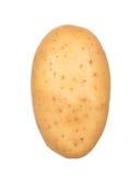 Kartoffel getrennt auf Weiß Stockfotos