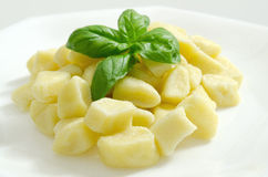 Kartoffel gnocchi Lizenzfreie Stockbilder