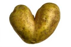 Kartoffel-Inneres Stockbild