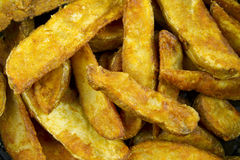 Kartoffel-Keile Stockfotografie