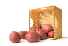 Kartoffel-Korb Lizenzfreie Stockbilder