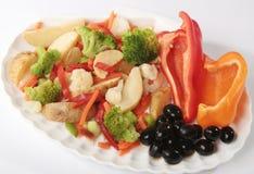 Kartoffel mit Gemüse Lizenzfreie Stockfotografie