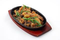 Kartoffel mit Pilzen Lizenzfreie Stockbilder