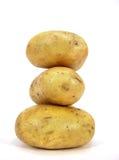 Kartoffel piramid Stockfoto