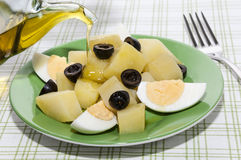Kartoffel salade Stockfotografie