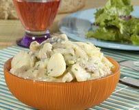 Kartoffel-Salat Stockbild