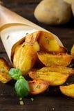 Kartoffel und chve Stockbild