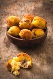 Kartoffelbälle Stockbild