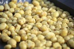 Kartoffelbehälter lizenzfreie stockfotos