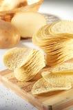 Kartoffelchips Stockfoto