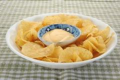 Kartoffelchips Stockbilder