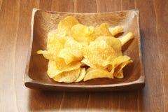 Kartoffelchips lizenzfreies stockbild