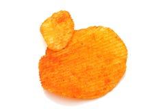Kartoffelchips mit Paprika Stockbild
