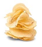 Kartoffelchipstapel Stockfotos