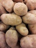 Kartoffelhintergrundbeschaffenheit Stockbild