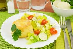 Kartoffelkuchen Stockbilder