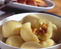 Kartoffelmehlkloß Lizenzfreies Stockfoto