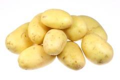 Kartoffeln ein Weiß. stockfotos