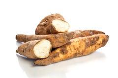 Kartoffeln lokalisiert auf weißem Hintergrund Lizenzfreie Stockfotografie