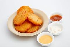 Kartoffelpastetchen lizenzfreie stockfotografie