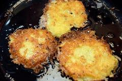 Kartoffelpfannkuchen Lizenzfreie Stockfotografie