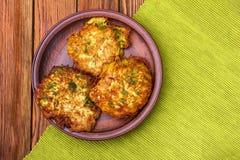 Kartoffelpfannkuchen Lizenzfreie Stockbilder