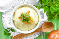 Kartoffelpuree Lizenzfreies Stockbild