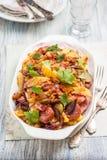 Kartoffelsalat немецкий салат картошки Стоковая Фотография RF