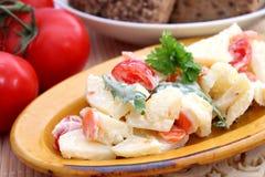 Kartoffelsalat Lizenzfreie Stockfotos
