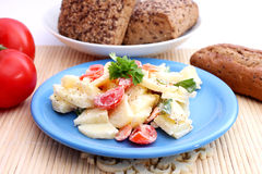 Kartoffelsalat Lizenzfreie Stockbilder