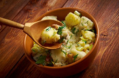 Kartoffelsalat Lizenzfreies Stockbild
