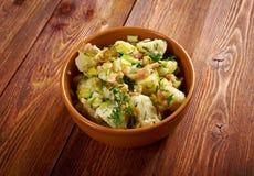 Kartoffelsalat Stockfoto