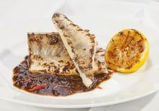 Kartoflana rolada z szpinaka, marchewki i curry'ego ryż, Obraz Stock