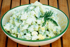 Kartoflana sałatka obrazy stock
