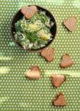 Kartoflana sałatka fotografia stock