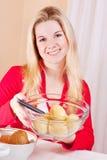 kartoflane kobiety Obraz Royalty Free