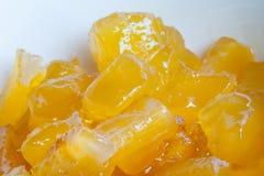 kartoflanej polewki cukierki Azjata stylowa deserowa polewka Obraz Royalty Free