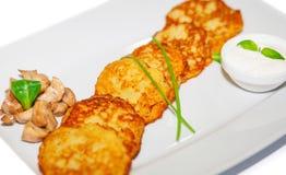 Kartoflani bliny Fotografia Stock