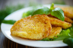 Kartoflani bliny zdjęcia stock
