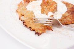 Kartoflani bliny Obraz Stock