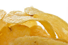 Kartoflani chipsy Fotografia Royalty Free