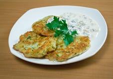 Kartoflani croquettes Zdjęcia Stock