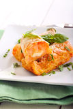 Kartoflani i marchwiani croquettes Fotografia Stock