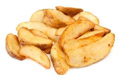 kartoflani kliny obraz stock
