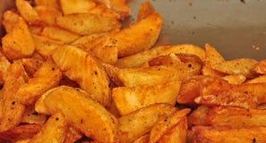 Kartoflani kliny obraz royalty free