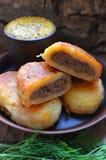 Kartoflani paszteciki fotografia stock