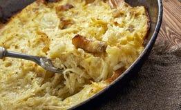 Kartoflany babka Fotografia Stock