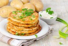 Kartoflany blin obraz stock