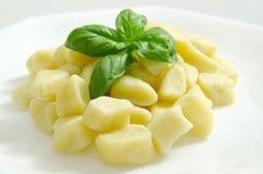 Kartoflany gnocchi Obrazy Royalty Free