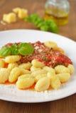 Kartoflany gnocchi zdjęcia royalty free